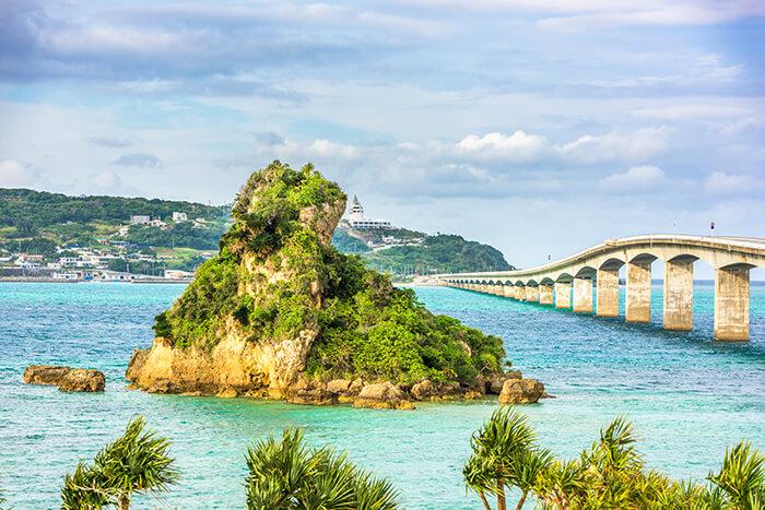 Kouri Bridge and Kouri Island
