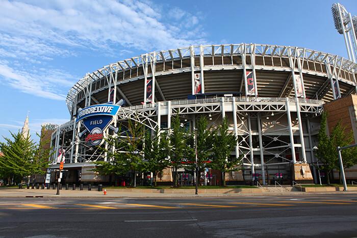 Progressive Field in Cleveland