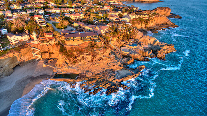 Three Arch Bay in Laguna Beach