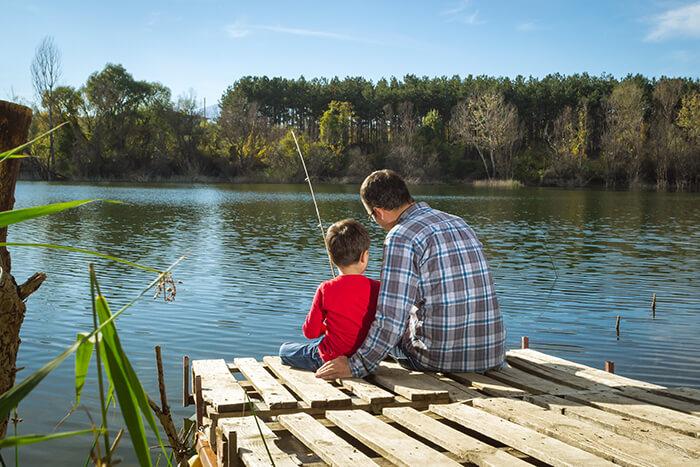 Tingley Beach Fishing
