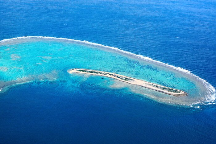 island of Nagannu in Okinawa