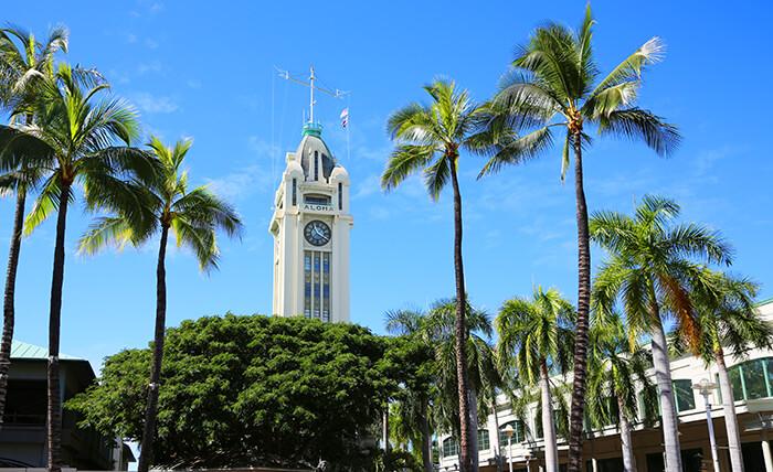 Aloha Tower - Honolulu, Oahu, Hawaii