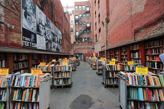 Brattle Bookshop in Boston