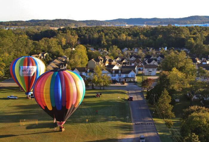 Chattanooga Hot Air Balloon
