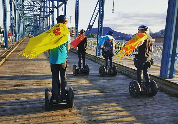 Chattanooga Segway Tours and Bike Rentals