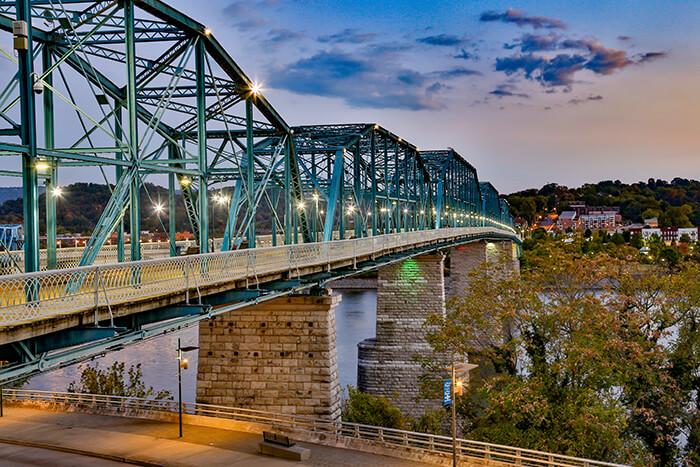 Chattanooga Walnut Street Bridge