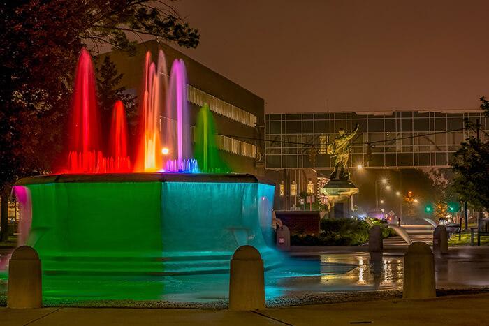 Downtown Erie, Pennsylvania