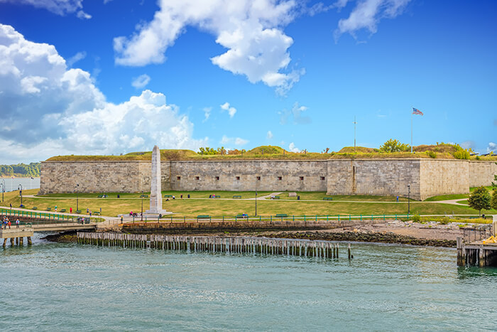 Fort Independence, in Boston