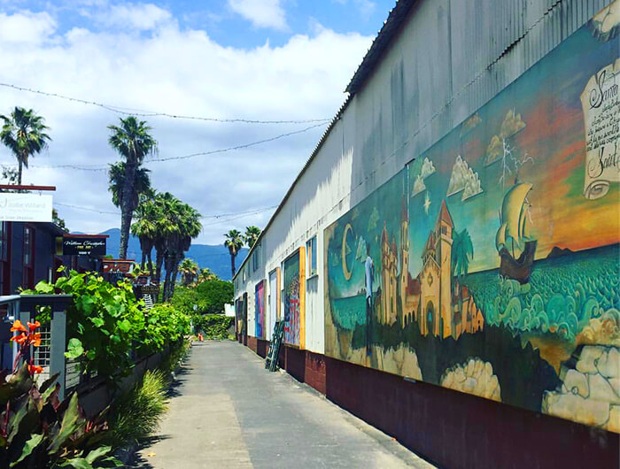 Funk Zone Santa Barbara