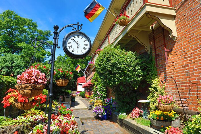 German Village area of Columbus