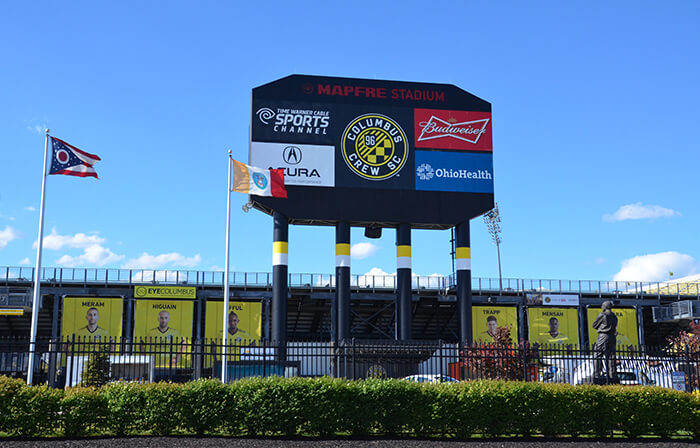 MAPFRE stadium in Columbus, Ohio