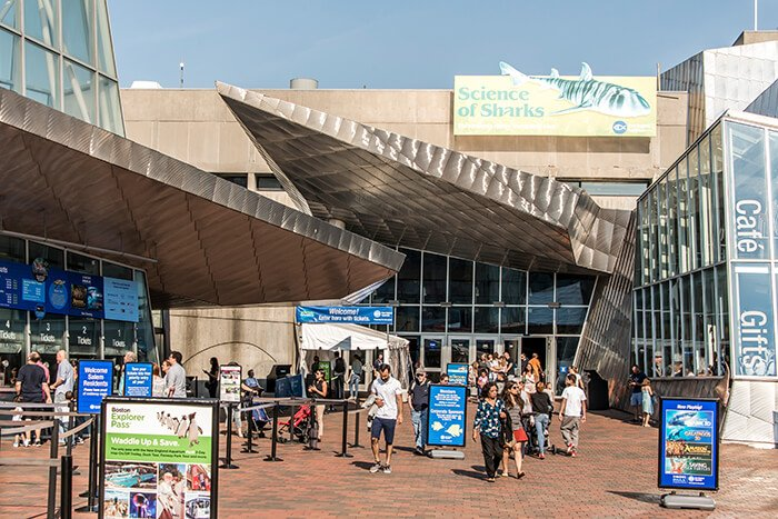 New England Aquarium in Boston