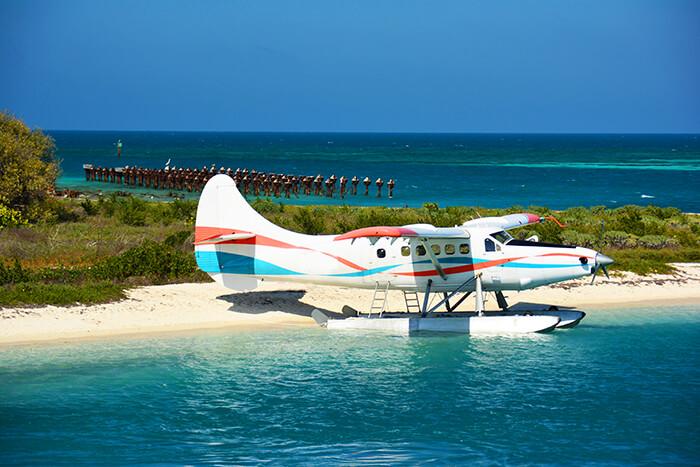 Sea Plane at Dry Tortugas