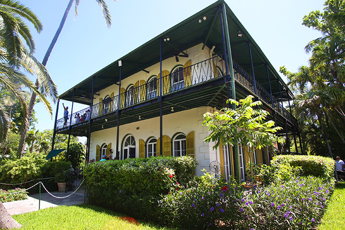 The Ernest Hemingway Home and Museum in Key West