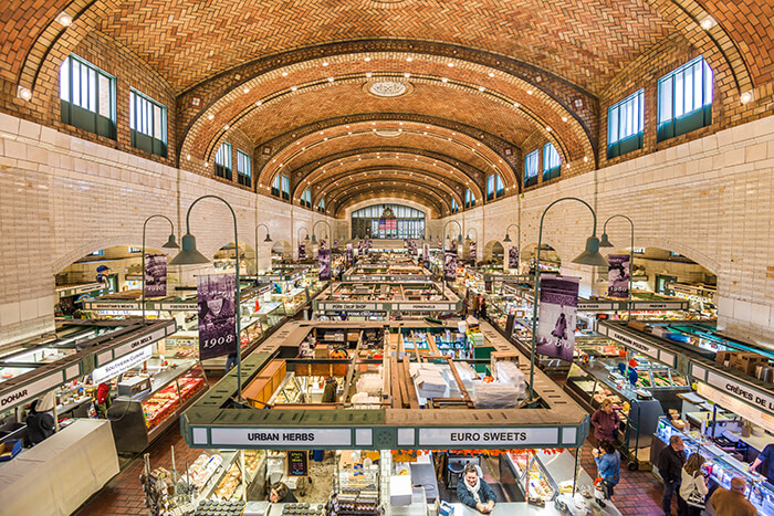 West Side Market interior