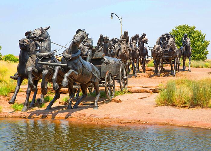 Centennial Land Run Monument