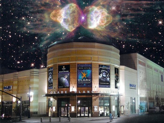 Clark Planetarium salt lake city