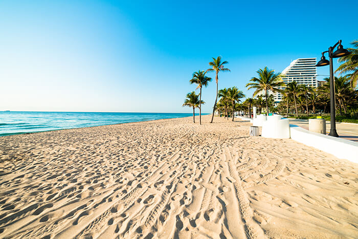 Fort Lauderdale Florida Beach