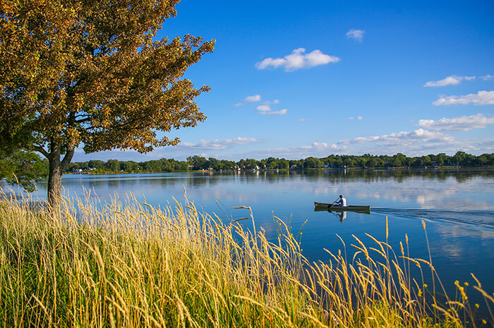 Lake Monona in Madison