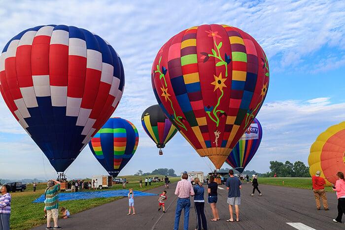 Lancaster Hot Air Balloon Rides