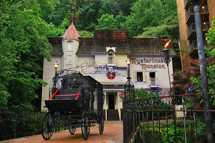 Mysterious Mansion of Gatlinburg