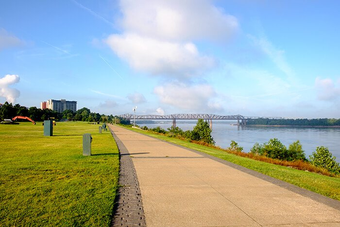 Tom Lee Park in Downtown Memphis