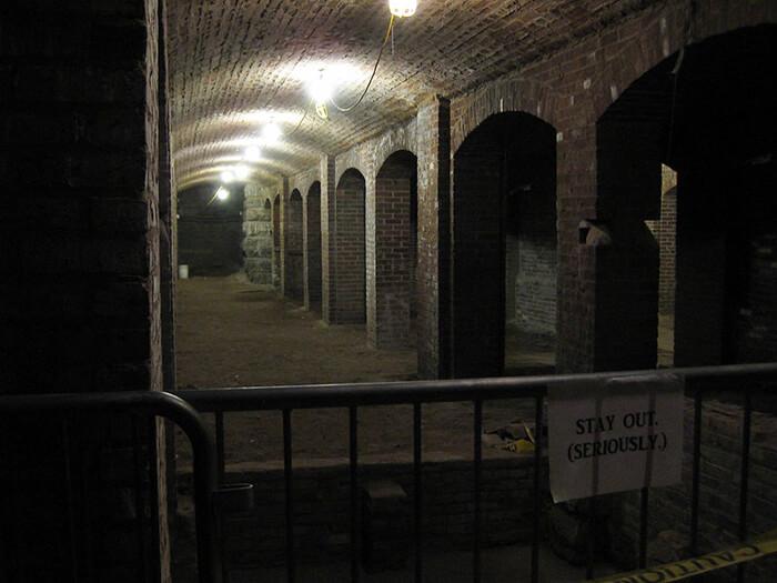 Market street catacombs