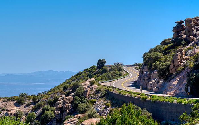 Mt Lemmon Scenic byway