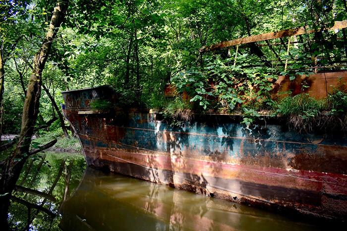 USS Sachem Ruins