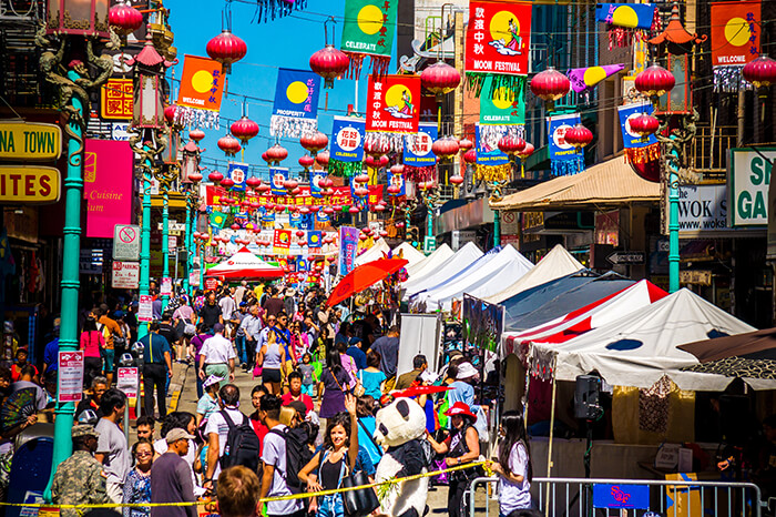 Chinatown of San Francisco