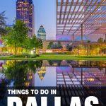 fun things to do in Dallas, TX