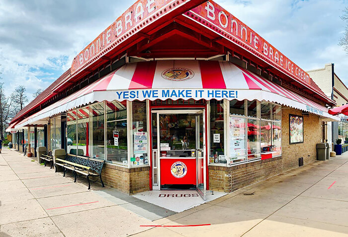 Bonnie Brae Ice Cream Shop
