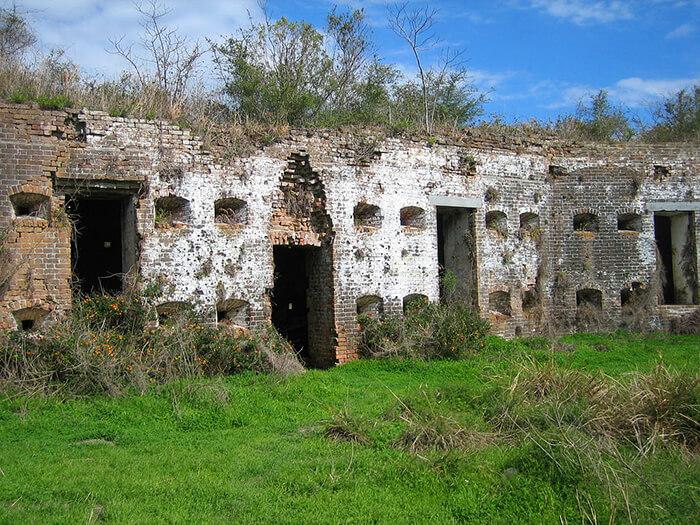 Fort Macomb Ruins