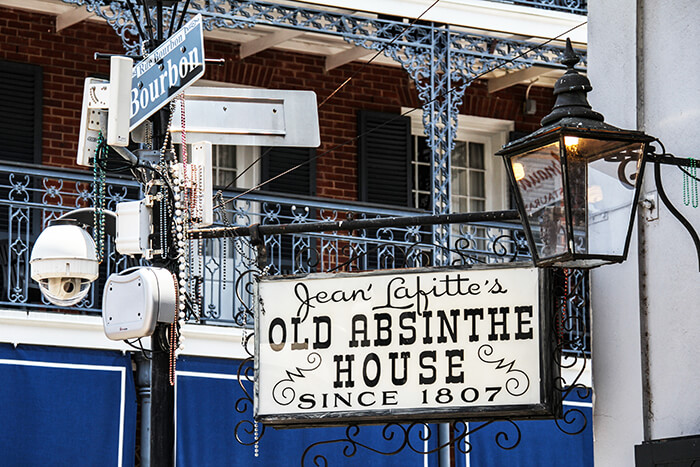 Jean Lafitte's Old Absinthe House
