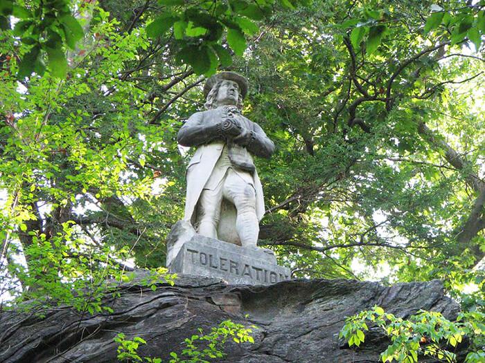 Toleration Statue
