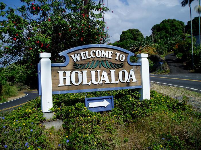 Holualoa Town