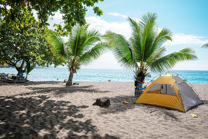 Ho'okena Beach Camping