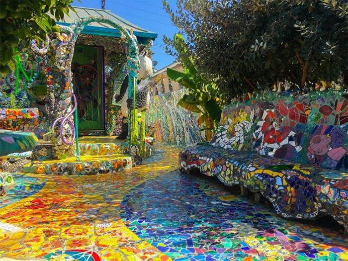 Mosaic Tile House