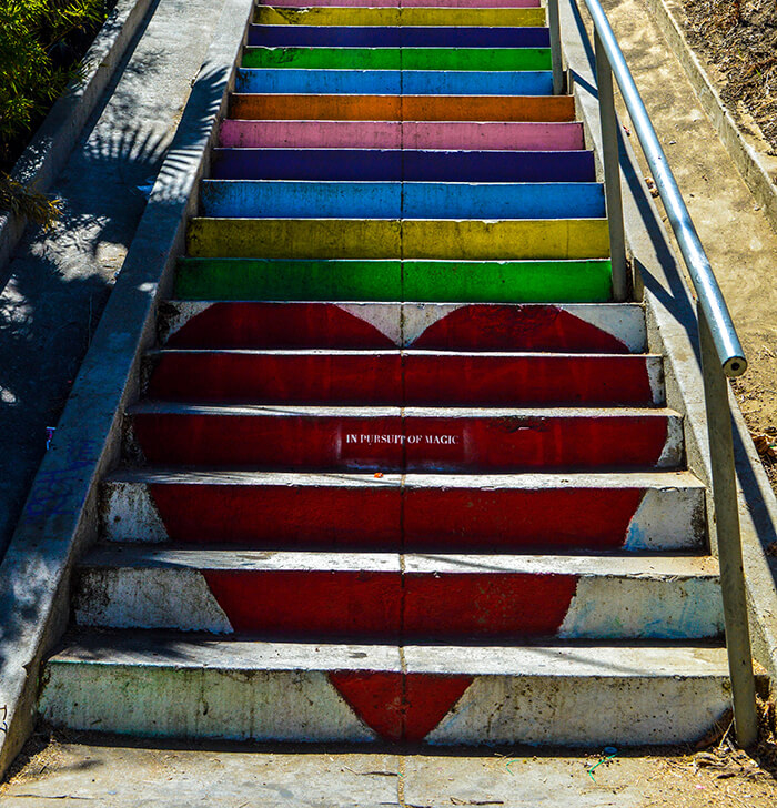 Silver Lake Staircases