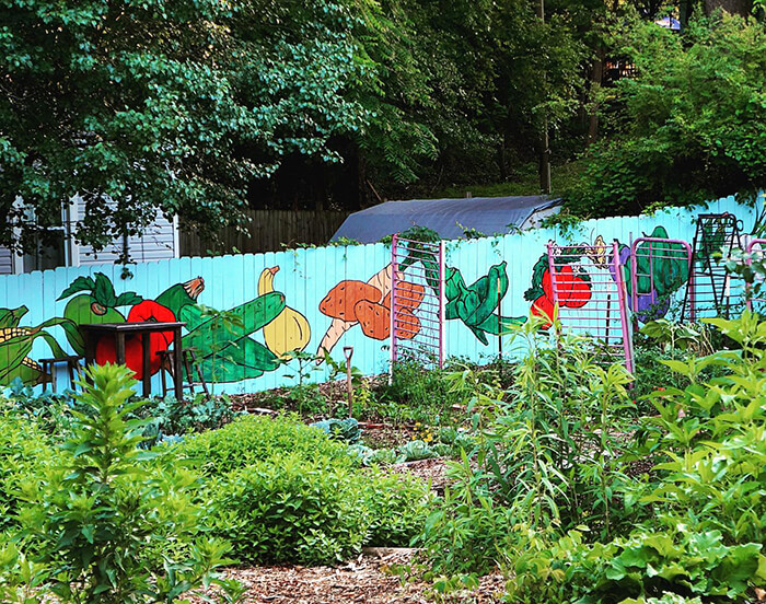Burton Street Community Peace Gardens