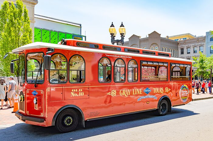 Gray Line Trolley