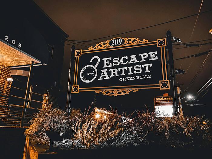 Escape Artist Greenville