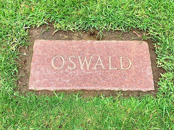 Lee Harvey Oswald's Grave