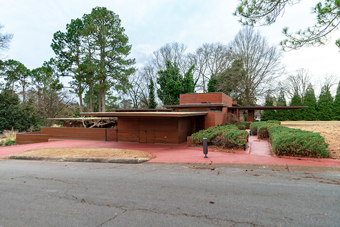 Frank Lloyd Wright Rosenbaum House Museum