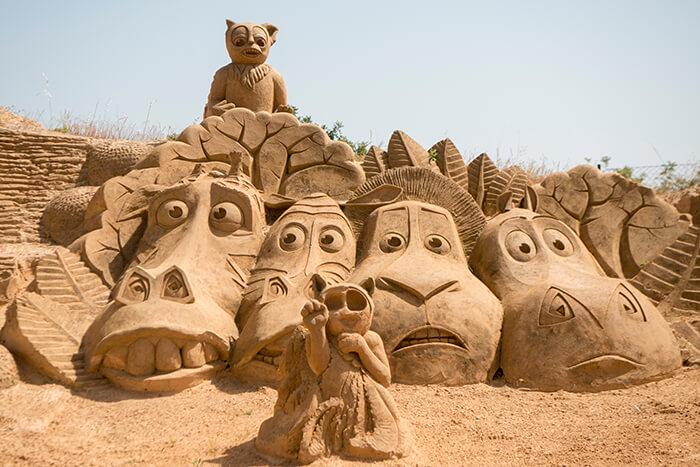 Great Sand Sculpture Contest