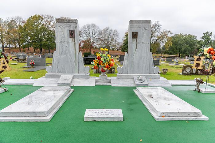 Hank Williams's Gravesite