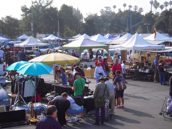 Pasadena City College Flea Market