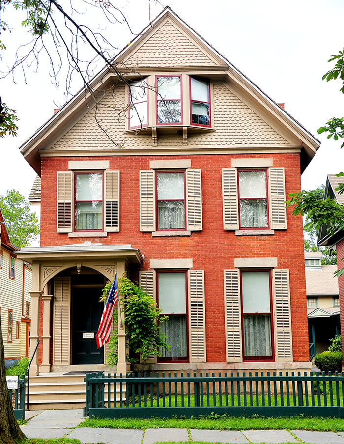 Susan B. Anthony Museum & House