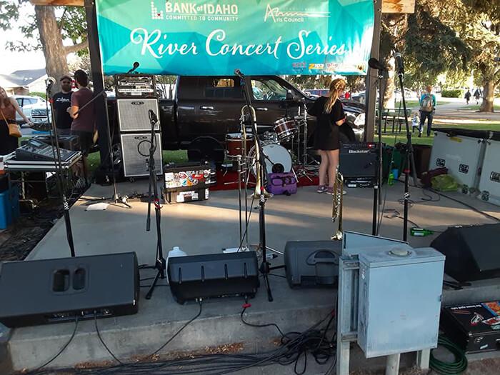 Bank of Idaho River Concert Series