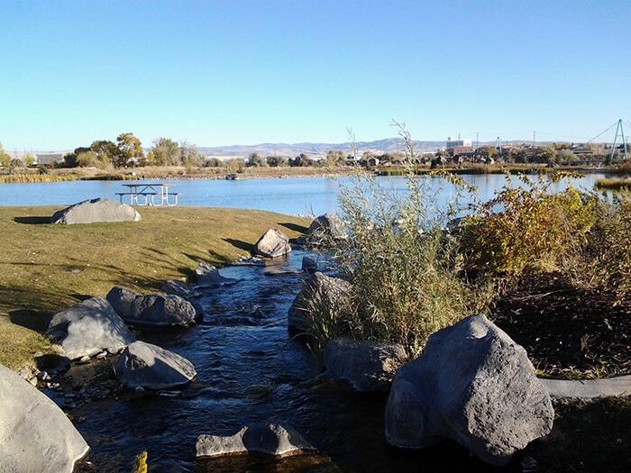 Becker Pond Fishing